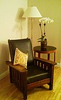 Fine Arts & Crafts Signed Karpen Recliner Morris Chair