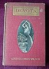 Antq BOOK: DEVOTA..A.E.WILSON {ILLUS +++ 1907