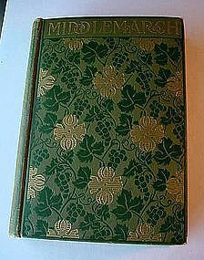 BEAUTIFUL ANTIQUE GEORGE ELIOT BOOK... MIDDLEMARCH 1899
