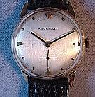 Gent's 14K MARC NICOLET Wrist Watch