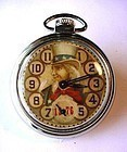 BICENTENNIAL 1976 UNCLE SAM POCKET WATCH