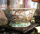 ANTIQUE CHINESE PORCELAIN BOWL ca. 1825-1850