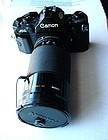 CAN0N AE1 Vintage Camera w KIRON 28-210mm f/4-5.6 LENS
