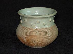 Yuan Dynasty - Qingpai Measure Jar