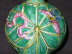 Qing Dynasty - Snuff Bottle In Lotus Flower Motif