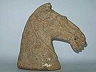 Han Dynasty - Funerary Pottery Horse Head
