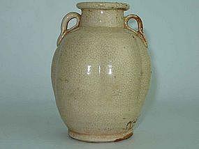 Song Dynasty - Glazed  Lobed Jarlet