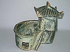 Han Dynasty - Well Preserved Funerary Pig Sty