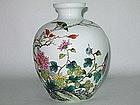 Early Republic - Very Fine Ovid Shape Vase 1920s/1930s