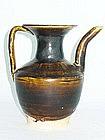 Yuan Dynasty - Dark Glazed Ewer
