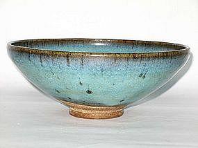 Yuan Dynasty - Large Jun Yao Bowl
