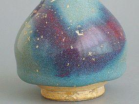 Jin Dynasty - Small Beautiful Junyao Vase