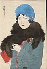 Ito Shinsui Woodblock Print - Early Spring SOLD