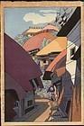 Muto Katei Woodblock Print - Boshu Futoumi SOLD