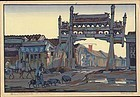 Cyrus leRoy Baldridge Woodblock Print - Peking Winter