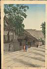 Noel Nouet Japanese Woodblock Print - Kuromon