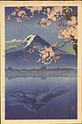 Koitsu Woodblock Print - Kawaguchi - SOLD