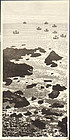 Okuyama Gihachiro Woodblock Print - Seashore