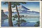 Tsuchiya Koitsu - Woodblock Print - Mt. Fuji (SOLD)