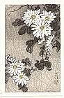 Ide Gakusui - Japanese Woodblock Print - Flowers