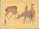 Ogata Korin Japanese Woodblock Print - SOLD