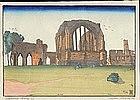 Steven Hutchins LE Woodblock Print - Egglestone Abbey SOLD