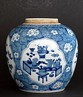 Chinese 18th Century Blue and White Jar