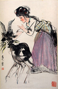 Chinese Painting by Cheng Duo Duo