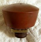 Antique Chinese stoneware opium pipe bowl