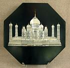 Anglo Indian Visagapatam stone tile MOP TajMahal inlay