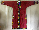 Traditional Afghanistan Pakistan silk embroidered Robe