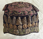 Antique Chinese Miao Ethnic Minority Child's hat