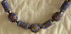 Antique Chinese Silver Enamel Beads Necklace