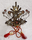 Edo Japanese large Empress doll headdress