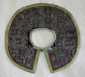 Chinese Dong Ethnic Minority Embroidered Child Collar