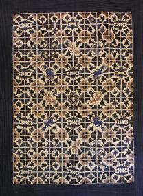 Chinese Miao Ethnic Minority Embroidered Blanket Panel