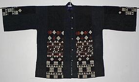 Chinese Yao Ethnic Minority Embroidered Jacket Yunnan