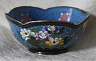 Japanese cloisonne bowl Inaba