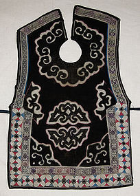 Chinese ethnic minority Dong Child embroidered pinafore