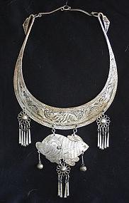 Chinese Yao Ethnic Minority necklace
