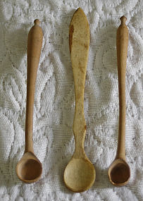 3 Antique Chinese Apothecary Spoons