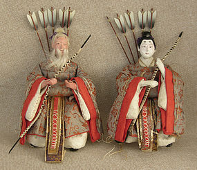 Meiji Girls Day Hina small pair Archers