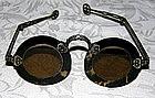Tortoise shell tinted Chinese eyeglasses Qing dynasty