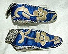 Lotus shoes girls silk embroidered sleeping slippers