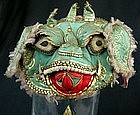 Chinese Foo Dog Hat for Young Child Qing Dynasty