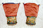 Antique Chinese Pair of Lotus Shoe Heels