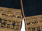 Yi Chinese Ethnic Minority embroidered loincloth Hainan