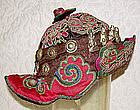Miao Chinese Ethnic Minority Hat Daiz stitch