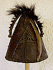 Ethnographic Hunters Hat from Nagaland