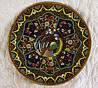 Japanese Meiji very intricate small Cloisonne Plate